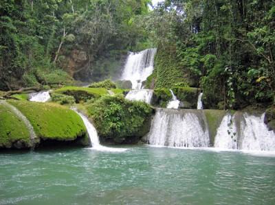Y's Falls, Saint Elizabeth, Jamaica